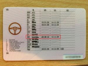 B+E License