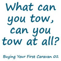 What can you tow, can you tow at all?
