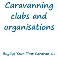 Caravanning clubs and organisations