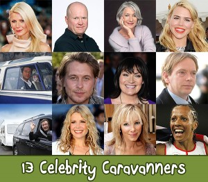 13 Celebrity Caravanners