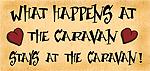 Comdey Caravan Sign