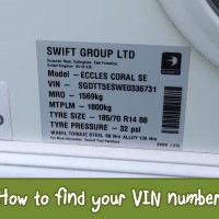 How to find your caravan VIN number